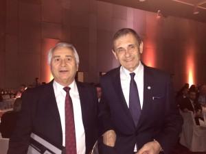 Jorge Médica y Carlos Castellani